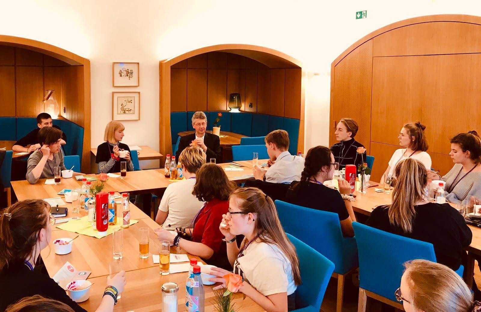 Termin bei der Stadtratsfraktion Die Grünen / rosa liste