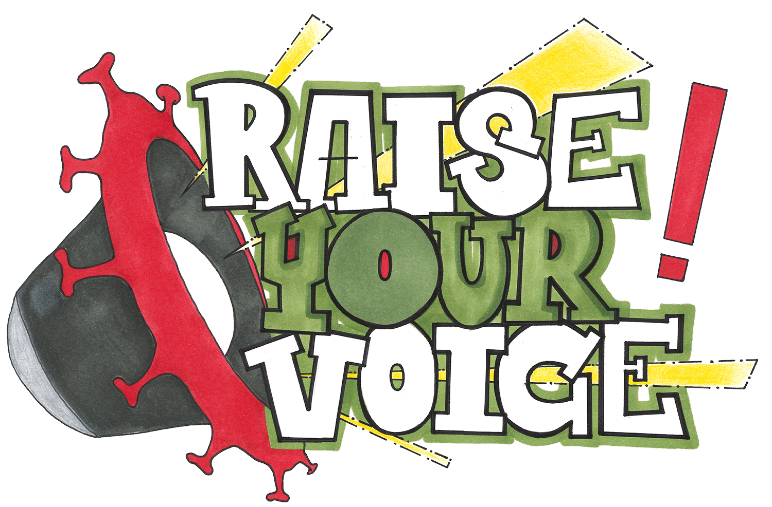 "KJR-Kampagne ""Raise Your Voice"""