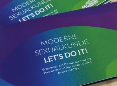 Moderne Sexualkunde – Let's do it!